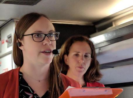 Amtrak Mobile Workshop begins!