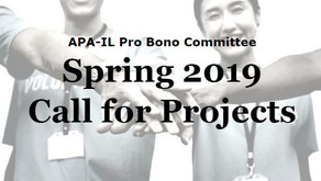 APA-IL Pro Bono Program: Spring 2019 Call for Projects
