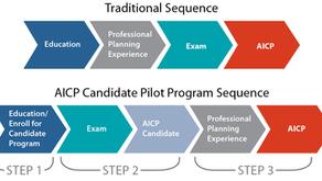 Enrollment in APA's AICP Candidate Pilot Program has Begun