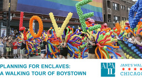 5/3 - Planning for Enclaves: A Walking Tour of Chicago's Boystown (CM | 1.5)