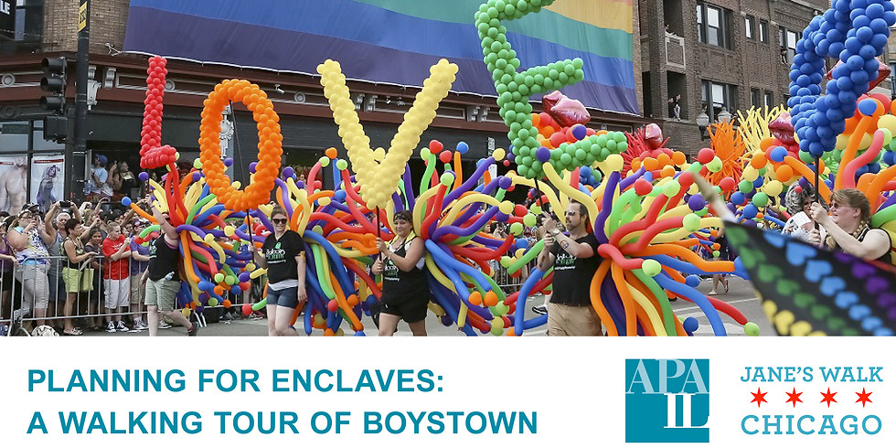 Planning for Enclaves - A Walking Tour of Boystown