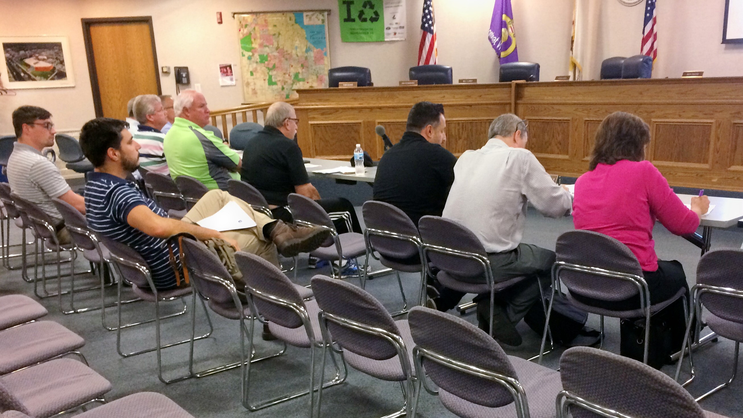 Oak Lawn Plan Commissioner Training August 6, 2018, with Laurie Marston, FAICP & Bob Sullivan, FAICP