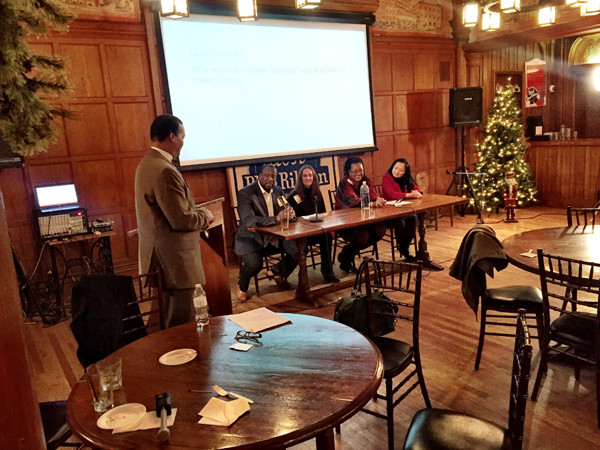 UWM 7th Annual Planning and a Pint - photo of panel