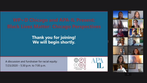 Watch the 7/23/20 APA-IL & WP+D Event - Black Lives Matter: Chicago Perspectives