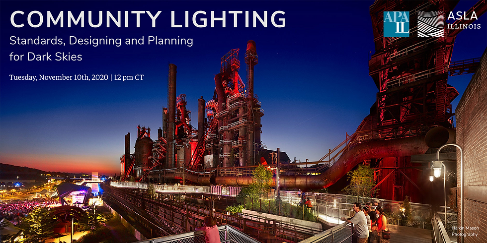 Community Lighting: Standards, Designing and Planning for Dark Skies