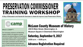 FREE Commission Assistance and Mentoring Program (CAMP®), Historic Preservation Training