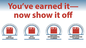 AICP Digital Credentials: A New Benefit for an Online World