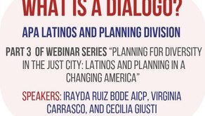 """9/17 - APA-IL D/E/I Committee Hosts Live Viewing of """"What Is a Diálogo?"""" Webinar (CM 