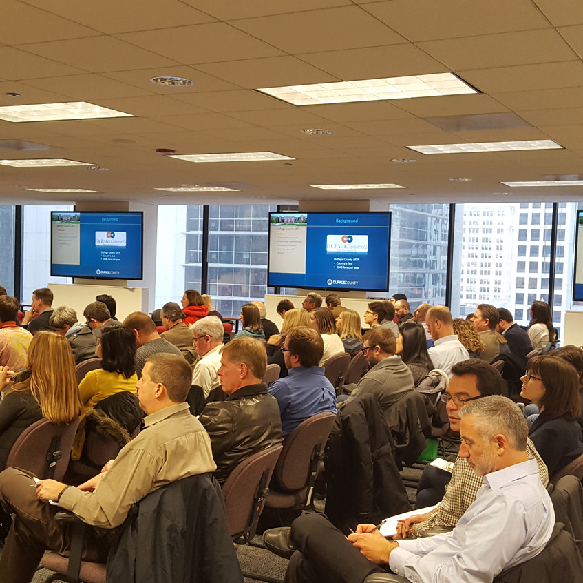 January 2017 CMS Event: Long Range Transportation Planning in Cook, DuPage, and Will Counties. Photo by Ryan Richter, AICP