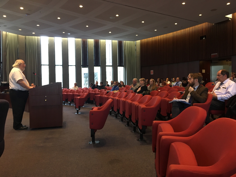 Presentation during Developmental Rules of Thumb: The Regulations and Realities Every Planner Should Know on April 10, 2018 at the City of Naperville (photo by Gabrielle Mattingly, City of Naperville)