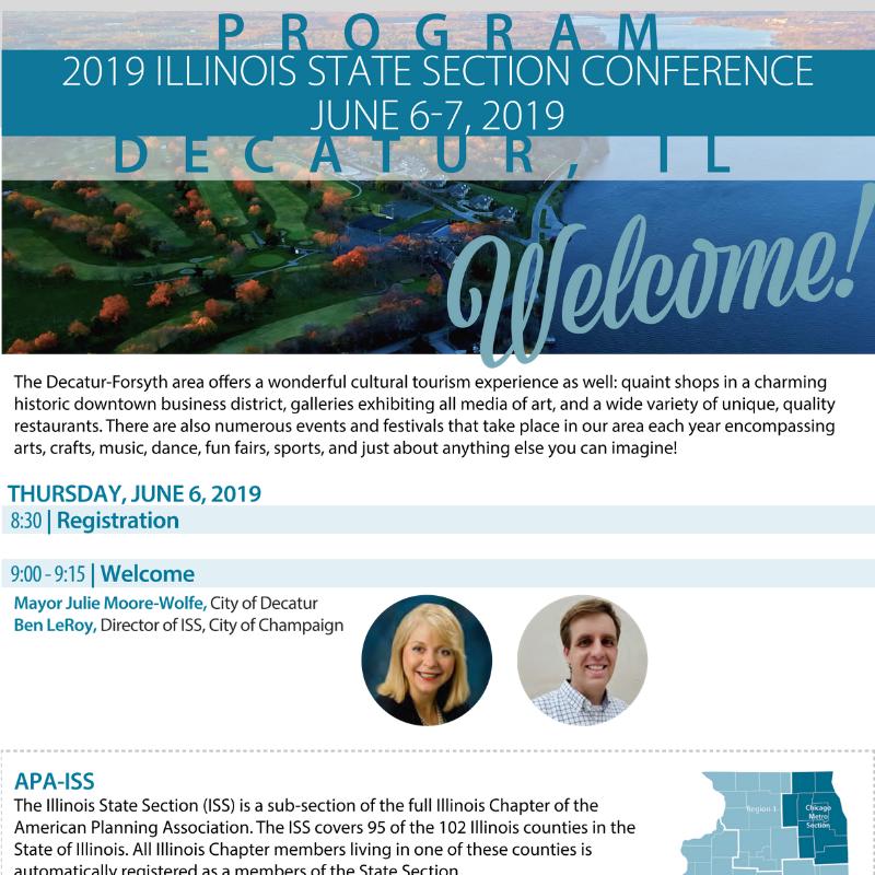 2019 APA-ISS Conference Program