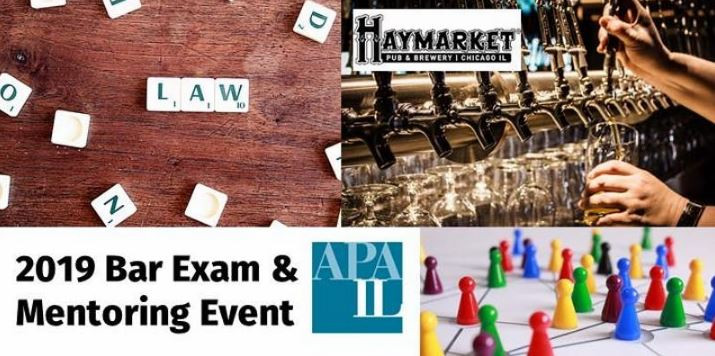 2019 Bar Exam & Mentoring Event Header