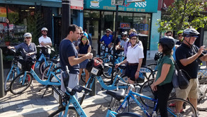 APA-CMS Tours Innovative Neighborhood-Scale Bicycle Solutions