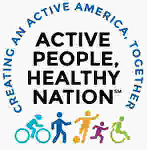 Active People Healthy Nation logo