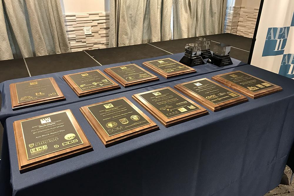 APA-IL Awards Plaques