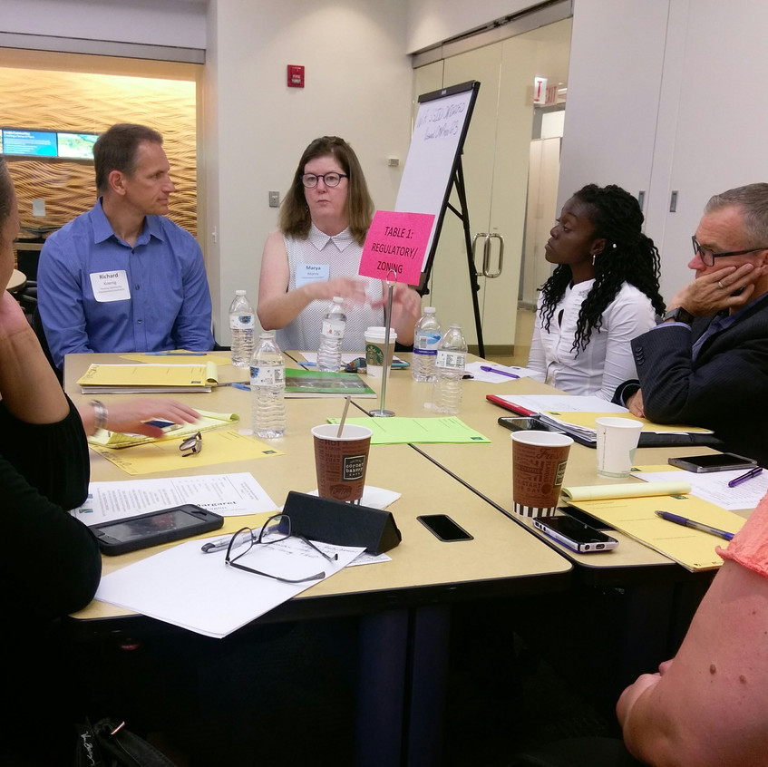 July 27, 2017 Advancing a Healthy Community Workshop, Chicago, IL (photo by Courtney Kashima, AICP)