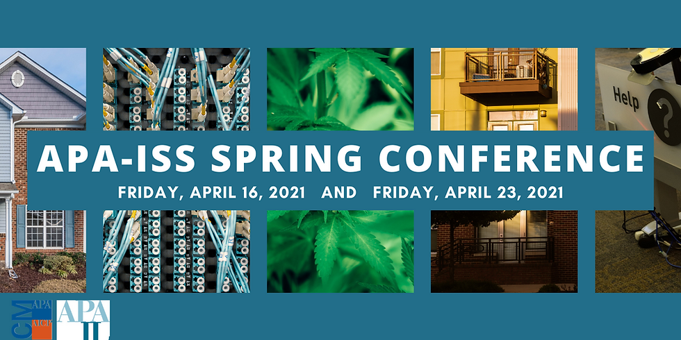 2021 APA-ISS Spring Conference