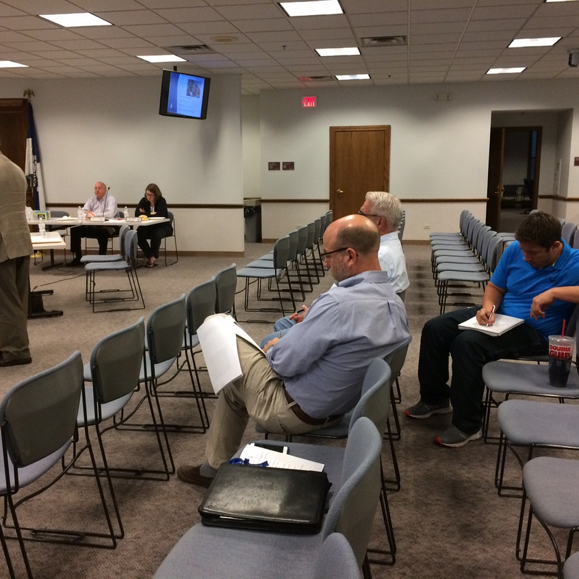 Michael Blue at Wheaton Comissioner training 09262017