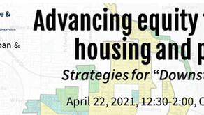 "4/22 - Advancing equity through housing and planning: Strategies for ""Downstate"" Illinois (CM 