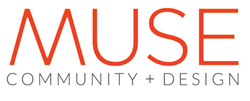 Muse Community + Design logo