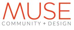 MUSE COMMUNITY + DESIGN logo
