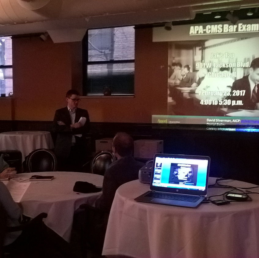 "APA-CMS Planning Law Session - ""Bar Exam II: The Sequel"", Photo by Todd Vanadilok, AICP"