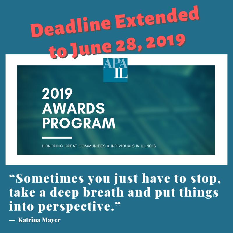 2019 Awards Deadline Extended to June 28, 2019