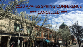 **CANCELLED** 2020 APA-ISS Spring Conference