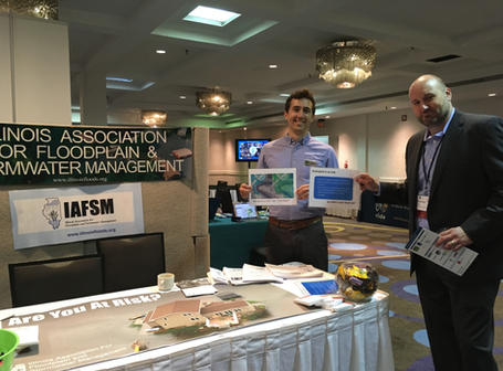 Thank to our in-kind sponsor, IAFSM! (photo by Paula Freeze)