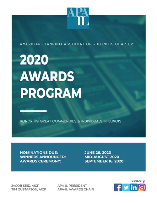 2020 APA-IL Awards Program Information