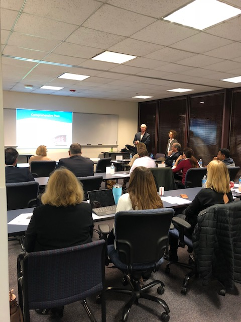 City of Naperville Plan Commissioner Training on 11/05/2018 with Bob Sullivan, FAICP and Carrie Davis, AICP