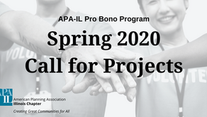 APA-IL Pro Bono Program: Spring 2020 Call for Projects