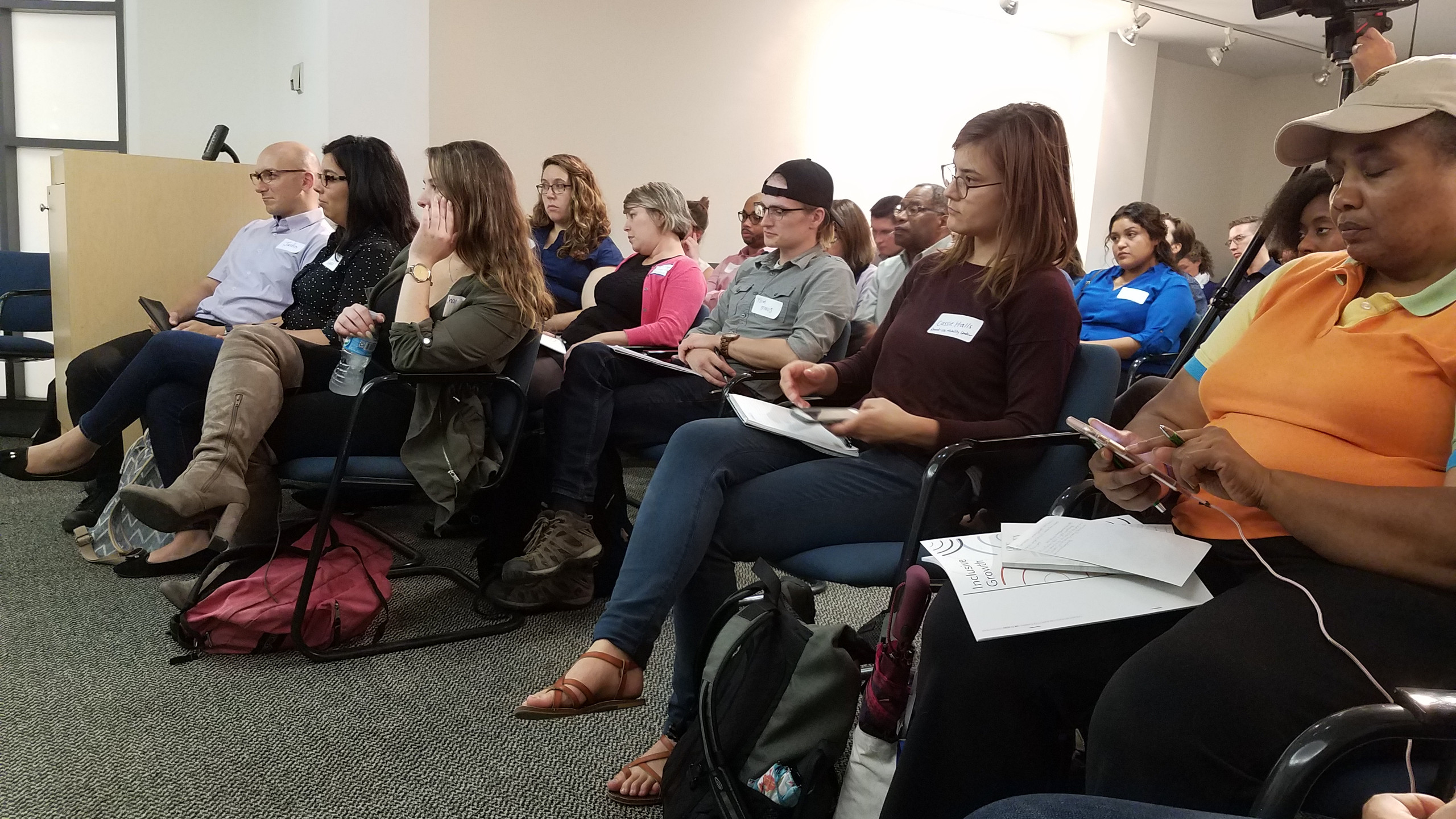 APA-IL Diversity Panel audience - October 5, 2017 (photo by Jake Seid, AICP)
