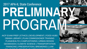 2017 State Conference: Preliminary Program Announced! Early Bird Registration Ends!