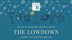 4/23/21 - The Lowdown Virtual Happy Hour