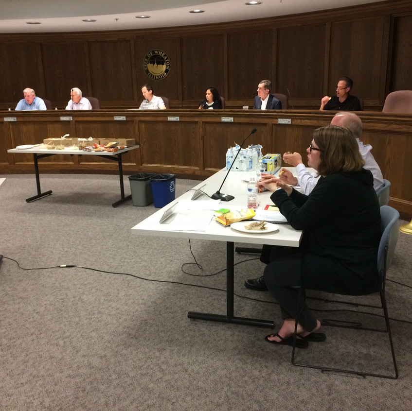 Wheaton Plan Commissioner Training,  September 26, 2017 (photo by Laurie Marston, FAICP)