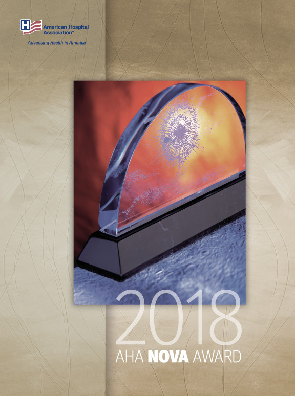 2018 AHA Nova Award program cover