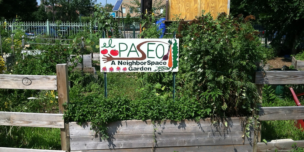 Bike-Ped Trails and Affordability: El Paseo Panel and Garden Tour