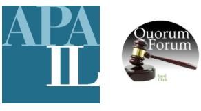 3/5/20 Quorum Forum 38: Remote Public Hearings (CM 1 LAW)