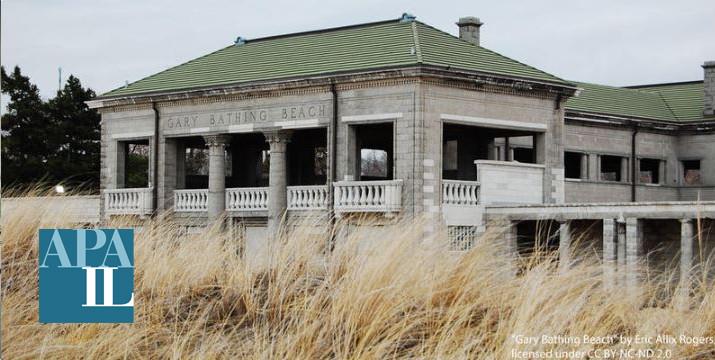 Gary Indiana Beach House with dunes
