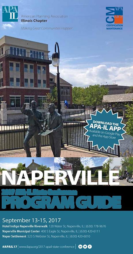 2017 APA-IL State Conference Final Program cover