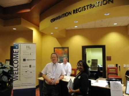 Co-Chair Phil Dick at the Registration Table.JPG