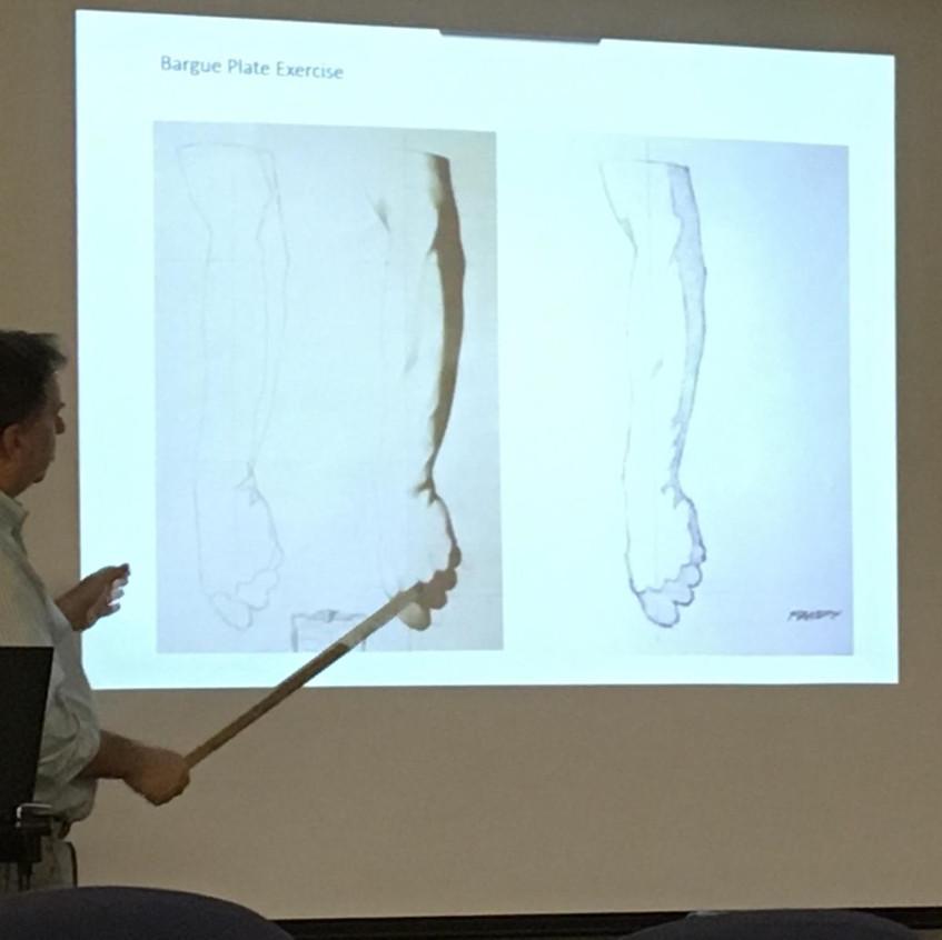 Bruce Bondy instructs attendees. (photo by Bruce Bondy)