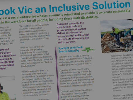 Outlook Vic an Inclusive Solution