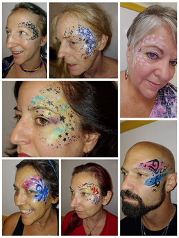 Glitter & Glam fun today at Cypress Pill