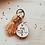 Thumbnail: porta-chaves franja