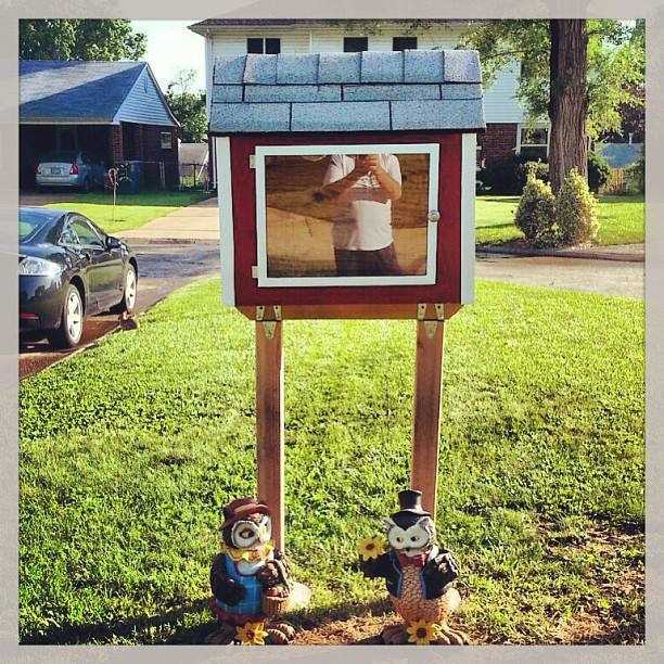 Leona Little Free Library