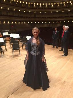 Carnegie hall Debut