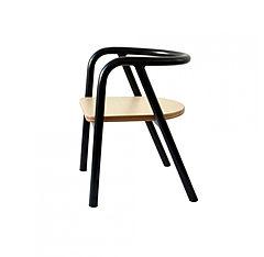 11.madf08mb-chaise-enfant-metal-noir-mum