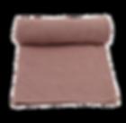 6.Couverture en tricot New Stitch - Rose